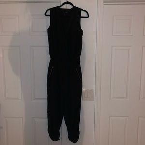 Aqua Black Jumpsuit
